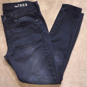 Gap Sz 28S blk legging Jeans